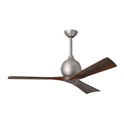 Ventilateur Plafond Irene-3 132cm Nickel Noyer