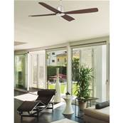 Ventilateur de Plafond Molokai 125cm Nickel Noyer