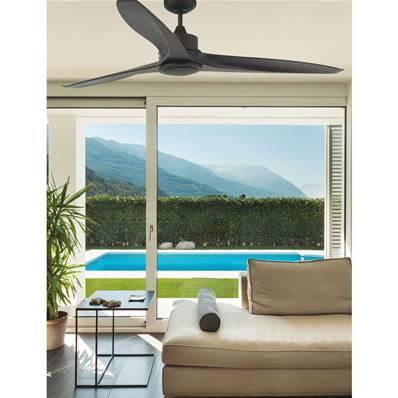 Ventilateur Plafond Tonic 152cm Marron
